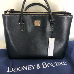 Dooney & Bourke Saffiano Willa Zip Satchel